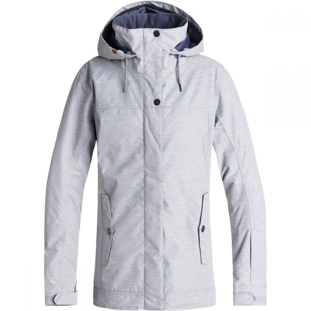 ロキシー Roxy レディース スキー・スノーボード アウター【Billie Hooded Jacket】Warm Heather Grey