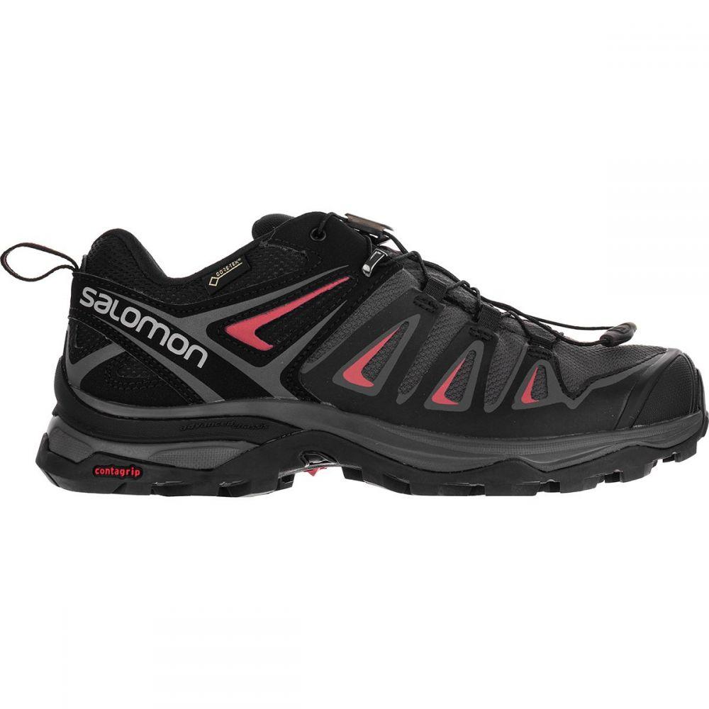 サロモン Salomon レディース ハイキング・登山 シューズ・靴【X Ultra 3 GTX Hiking Shoe】Magnet/Black/Mineral Red