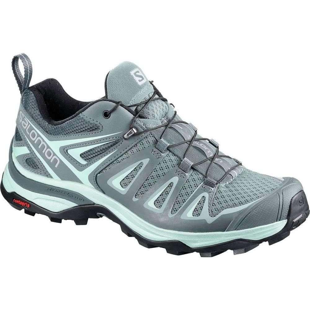 サロモン Salomon レディース ハイキング・登山 シューズ・靴【X Ultra 3 Hiking Shoe】Lead/Stormy Weather/Canal Blue