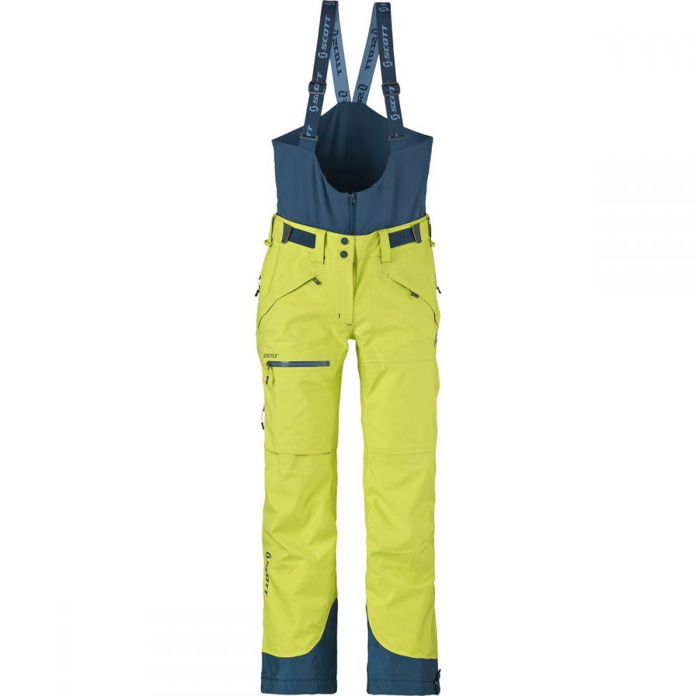 スコット Scott レディース スキー・スノーボード ボトムス・パンツ【Vertic GTX 3L Pant】Limeade Yellow