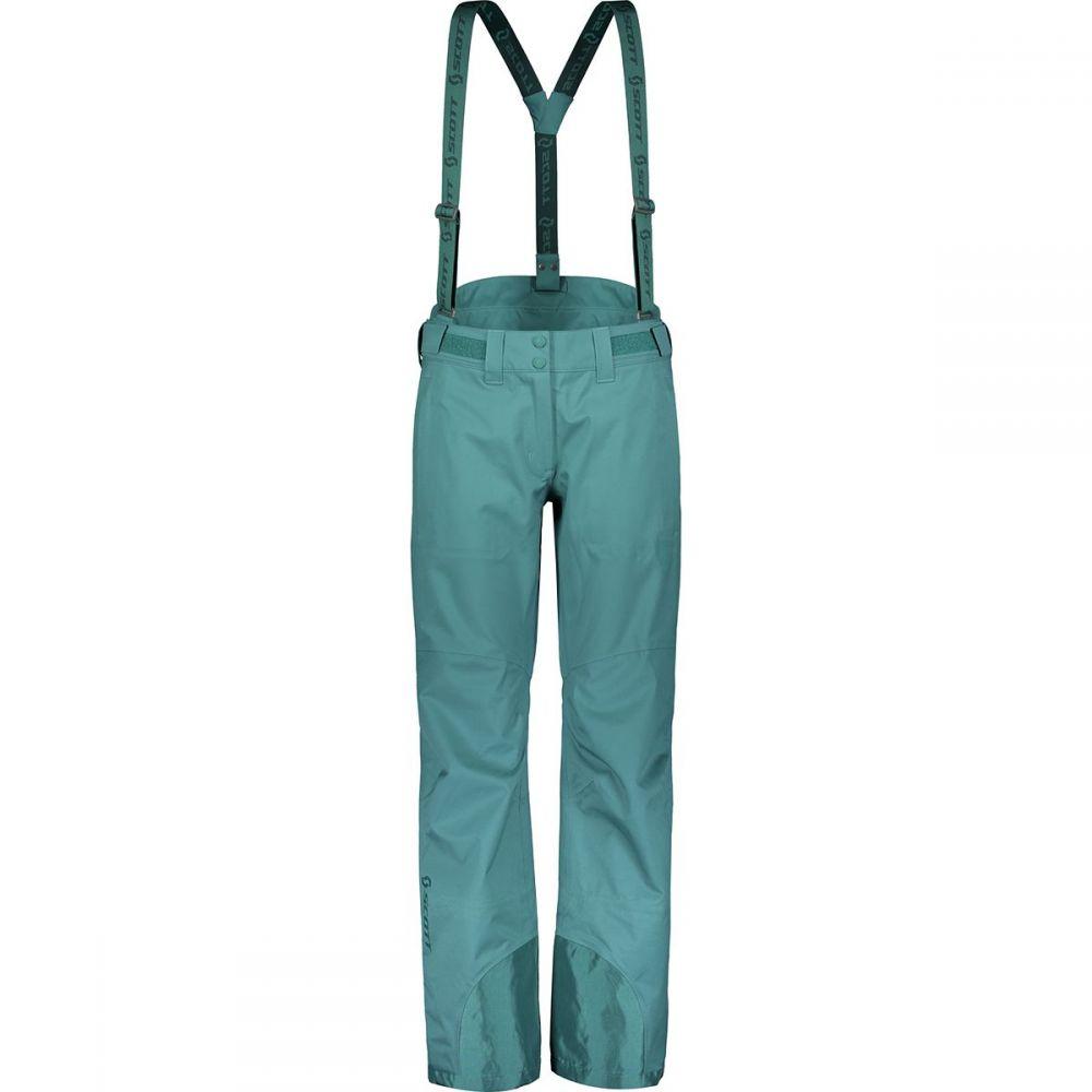 スコット Scott レディース スキー・スノーボード ボトムス・パンツ【Explorair 3L Pant】Dragonfly Green
