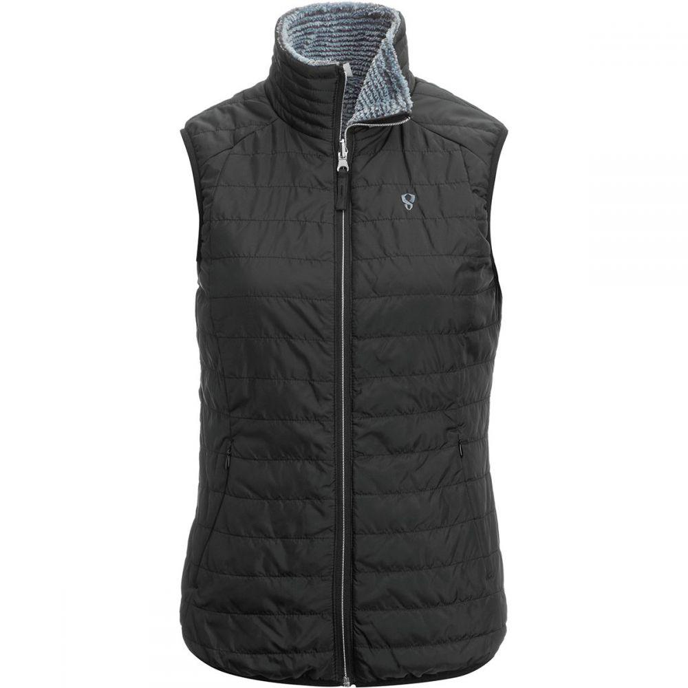 ストイック Stoic レディース トップス ベスト・ジレ【Sherpa Lined Insulated Vest】Black