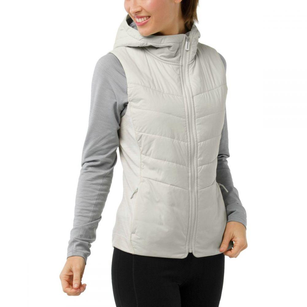 スマートウール Smartwool レディース トップス ベスト・ジレ【Smartloft 60 Hoodie Vest】Silver Birch
