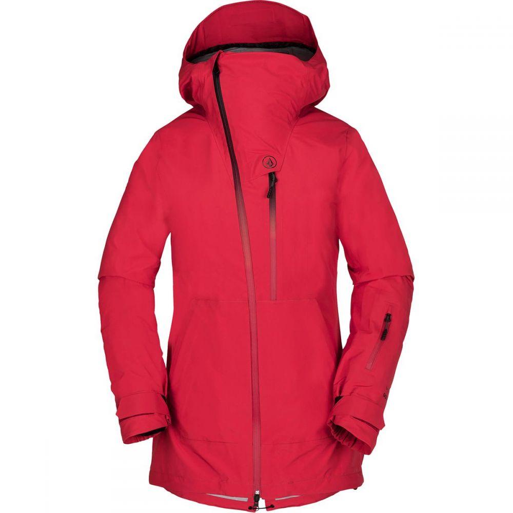 ボルコム Volcom レディース スキー・スノーボード アウター【Nya TDS Gore - Tex Jacket】Crimson
