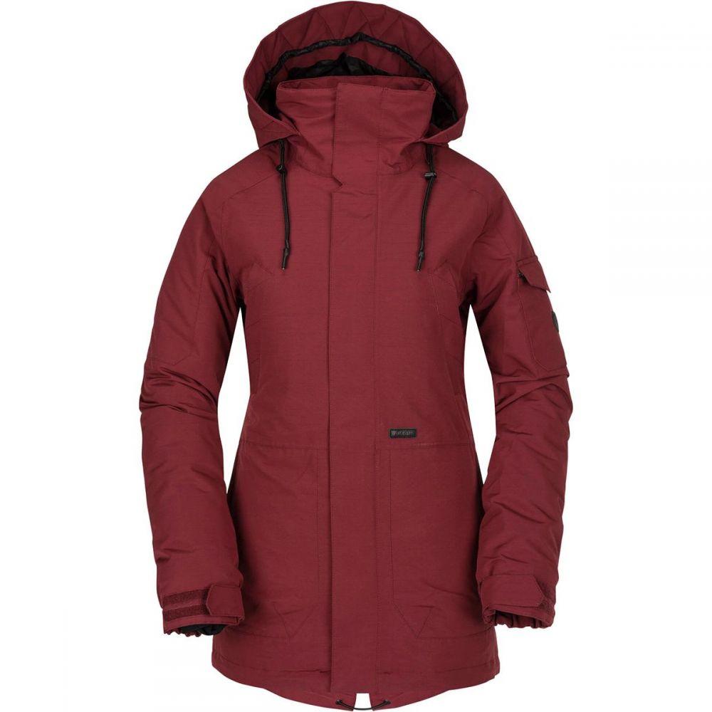 ボルコム Volcom レディース スキー・スノーボード アウター【Shrine Insulated Jacket】Burnt Red