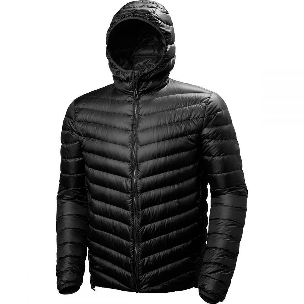 ヘリーハンセン Helly Hansen メンズ アウター ダウン・中綿ジャケット【Verglas Hooded Down Insulator Jackets】Black