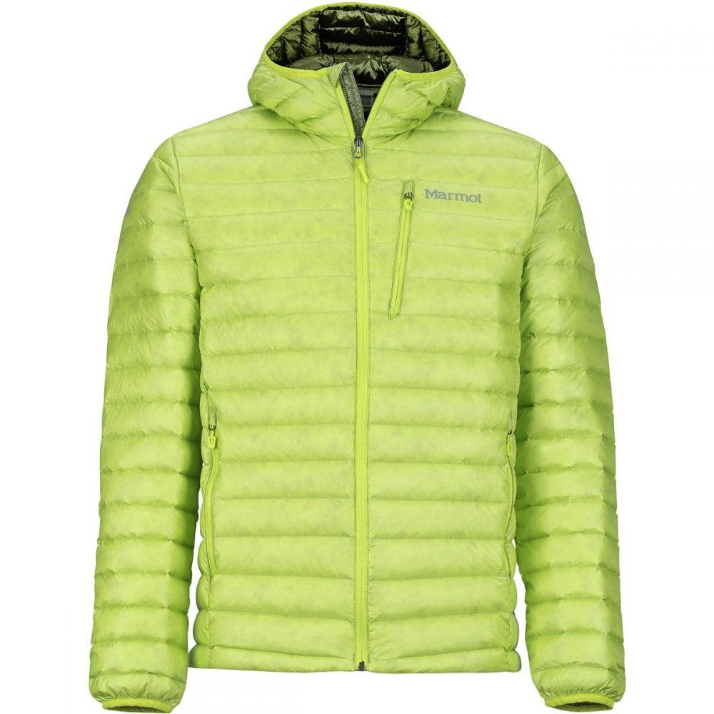 マーモット Marmot メンズ アウター ダウン・中綿ジャケット【Quasar Nova Hooded Down Jackets】Bright Lime