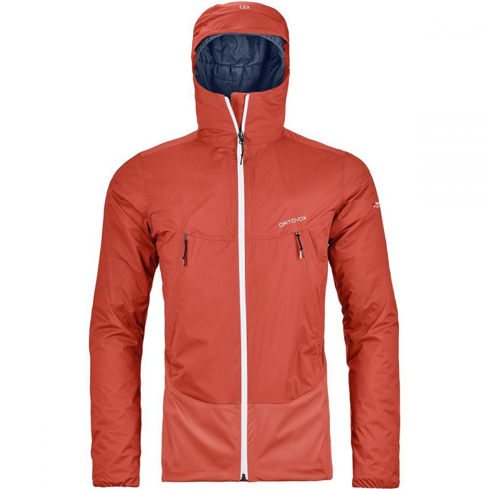 オルトボックス Ortovox メンズ スキー・スノーボード アウター【Swisswool Leone 2L Jackets】Crazy Orange
