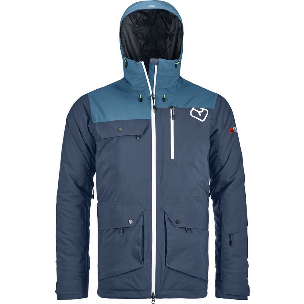 オルトボックス Ortovox メンズ スキー・スノーボード アウター【Swisswool Andermatt 2L Jackets】Night Blue
