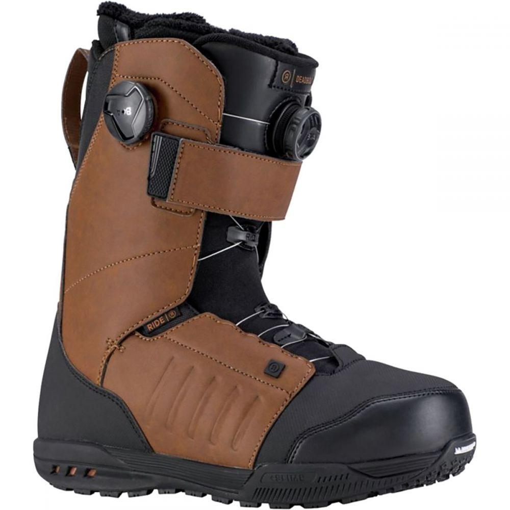ライド Ride メンズ スキー・スノーボード シューズ・靴【Deadbolt Boa Snowboard Boots】Brown