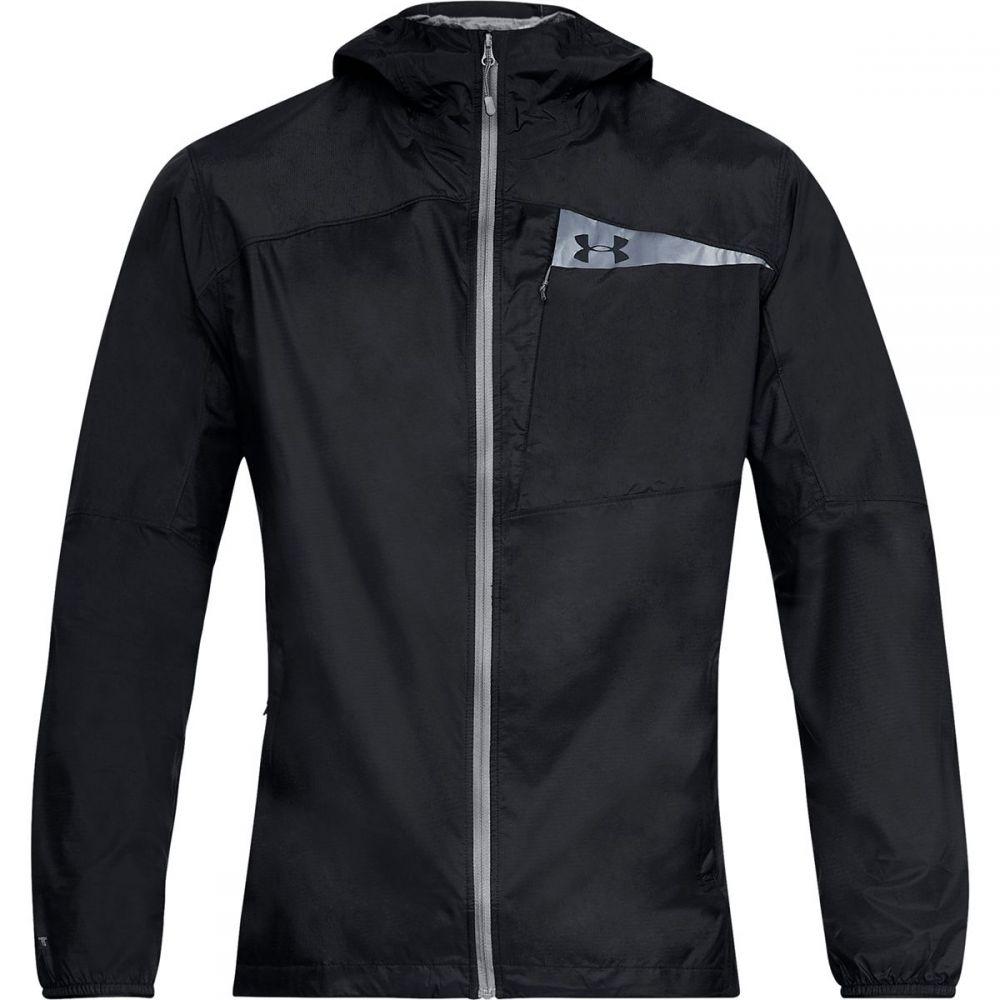 アンダーアーマー Under Armour メンズ アウター レインコート【Scrambler Hybrid Jackets】Black/Black/Graphite