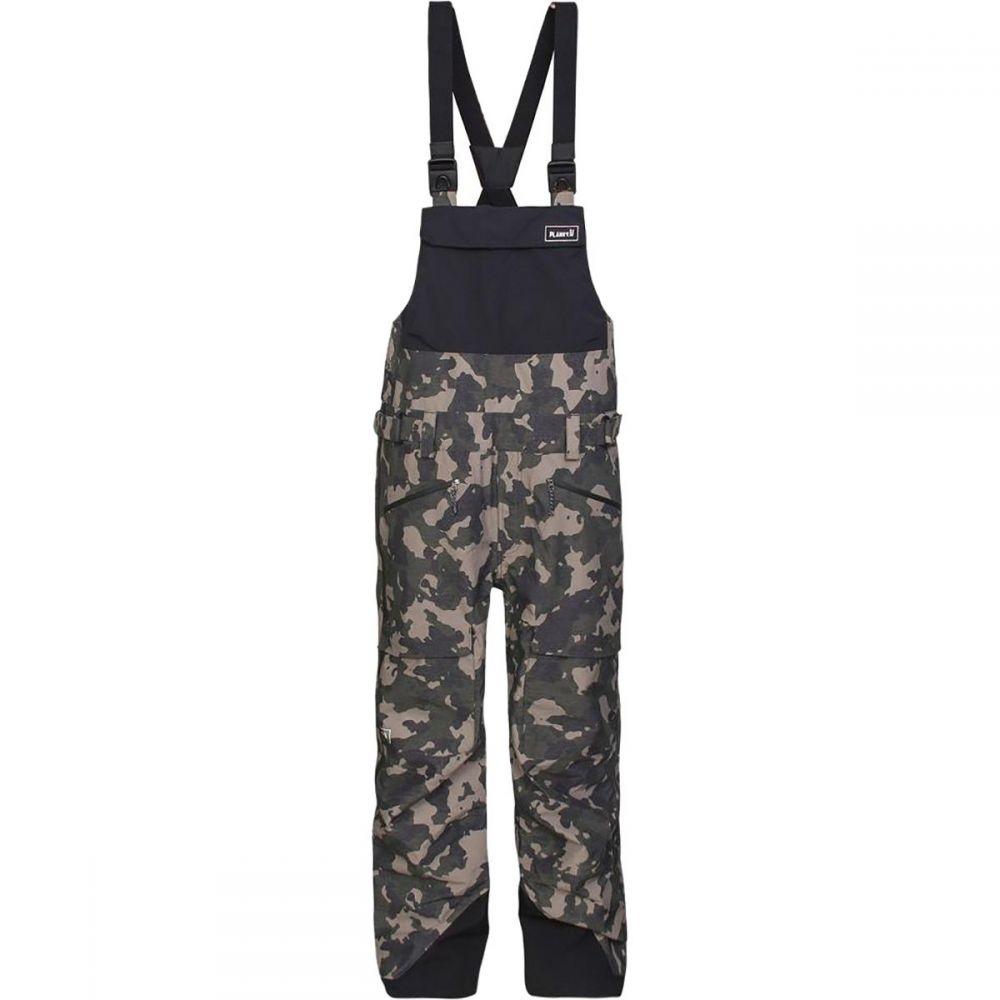 プランクス Planks Clothing メンズ スキー・スノーボード ボトムス・パンツ【Yeti Hunter 3L Bib Pants】Stone Camo