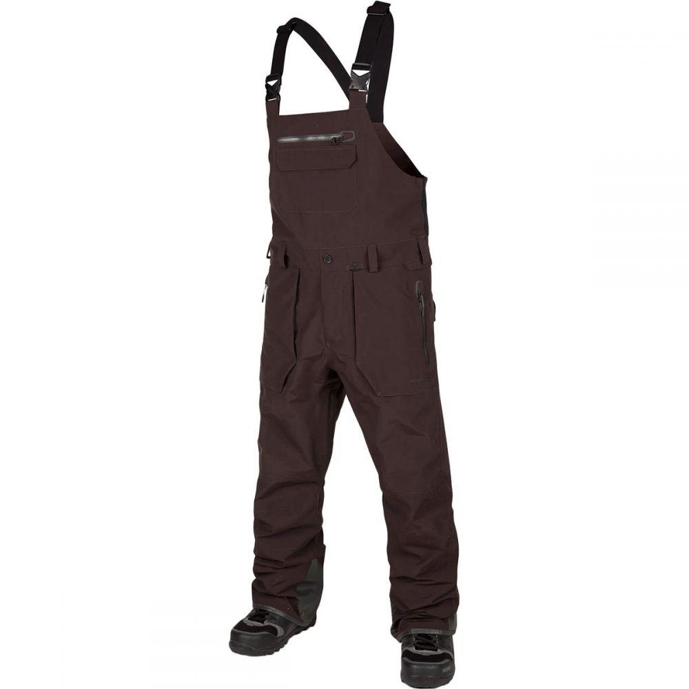 ボルコム Volcom メンズ スキー・スノーボード ボトムス・パンツ【Rain Gore - Tex Bib Overall Pants】Black/Red