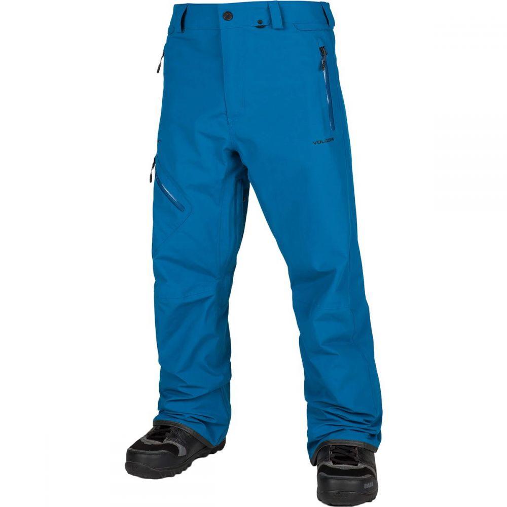 ボルコム Volcom メンズ スキー・スノーボード ボトムス・パンツ【L Gore - Tex Pants】Blue