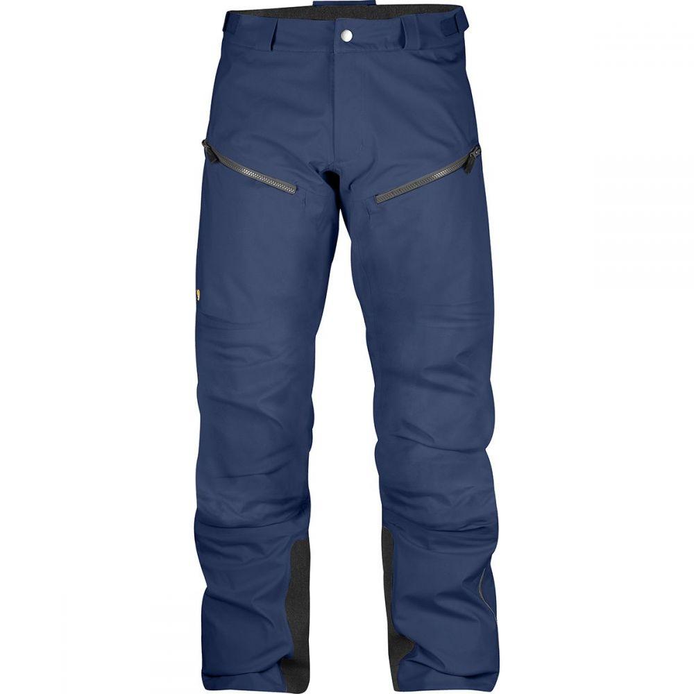フェールラーベン Fjallraven メンズ ハイキング・登山 ボトムス・パンツ【Bergtagen Eco - Shell Trousers】Mountain Blue