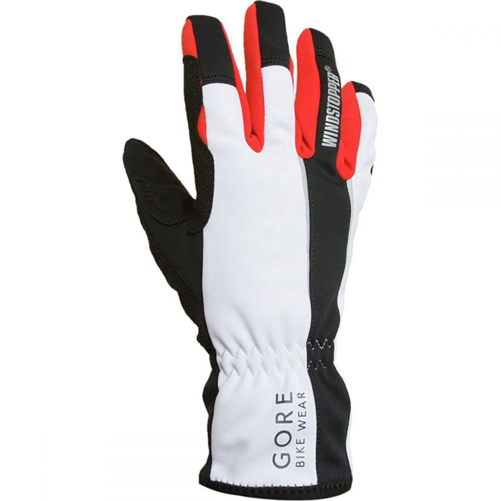 ゴアバイクウェア Gore Bike Wear メンズ 自転車 グローブ【Power Softshell Gloves】Black/White