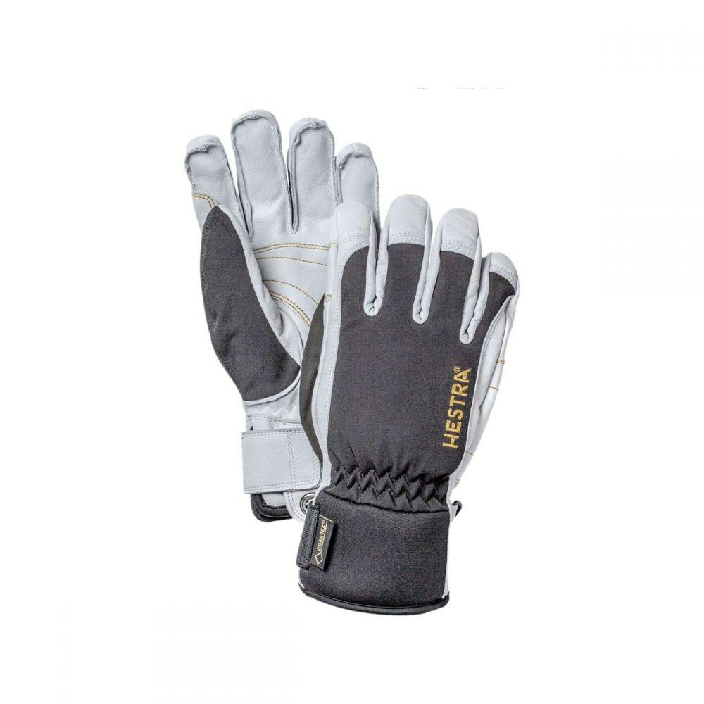 ヘスタ Hestra メンズ 手袋・グローブ【Army Leather Gore - Tex Short Gloves】Black/Off White