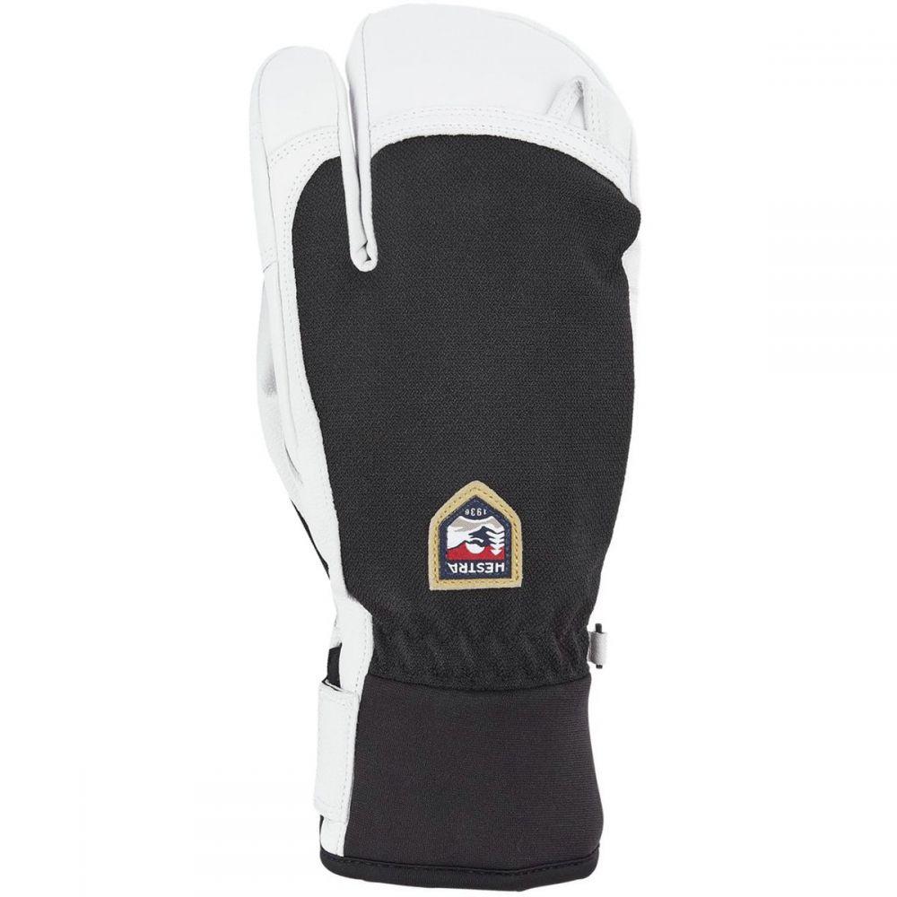ヘスタ Hestra メンズ 手袋・グローブ【Army Leather Patrol 3 Finger Gloves】Black
