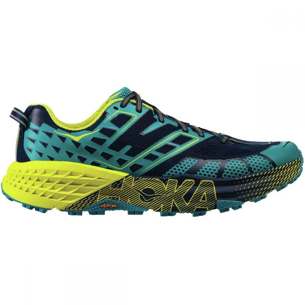 ホカ オネオネ HOKA ONE ONE メンズ ランニング・ウォーキング シューズ・靴【Speedgoat 2 Running Shoes】Caribbean Sea/Blue Depths