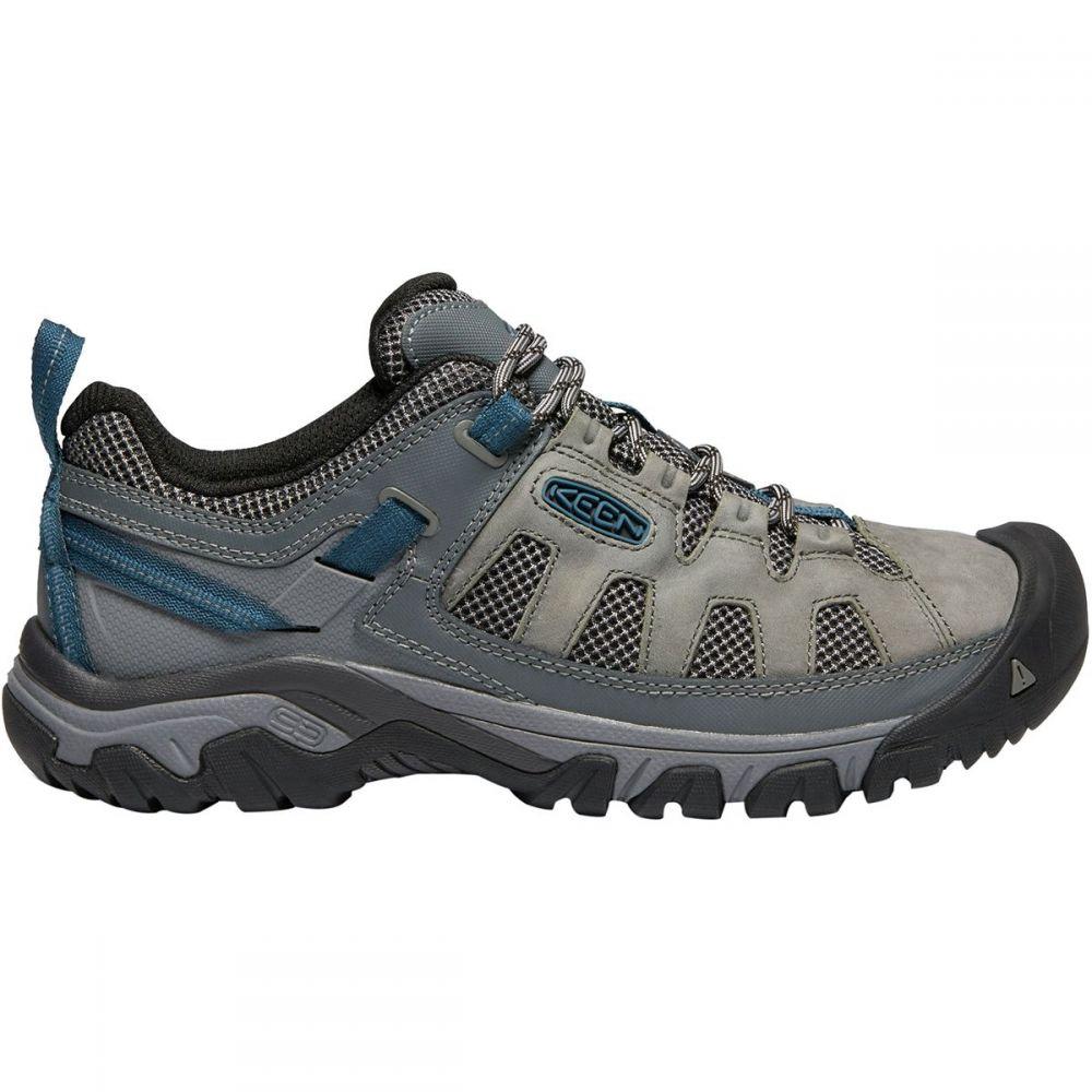 キーン KEEN メンズ ハイキング・登山 シューズ・靴【Targhee Vent Hiking Shoes】Basalt/Legion Blue