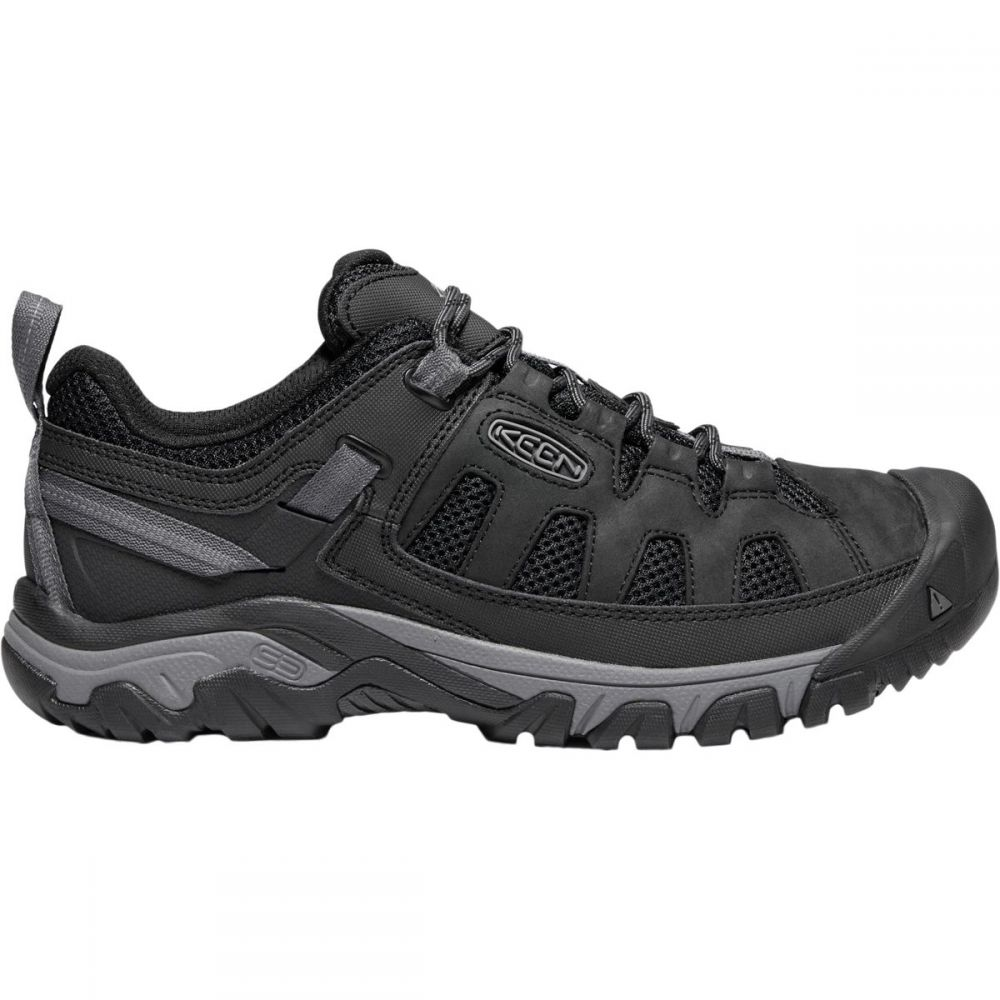 キーン KEEN メンズ ハイキング・登山 シューズ・靴【Targhee Vent Hiking Shoes】Black/Steel Grey