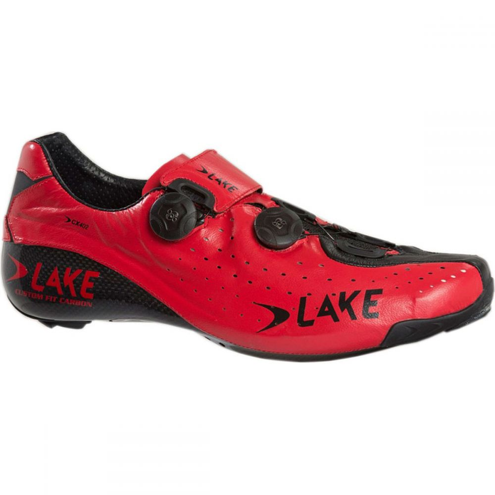 レイク Lake メンズ 自転車 シューズ・靴【CX402 Shoess】Red/Black