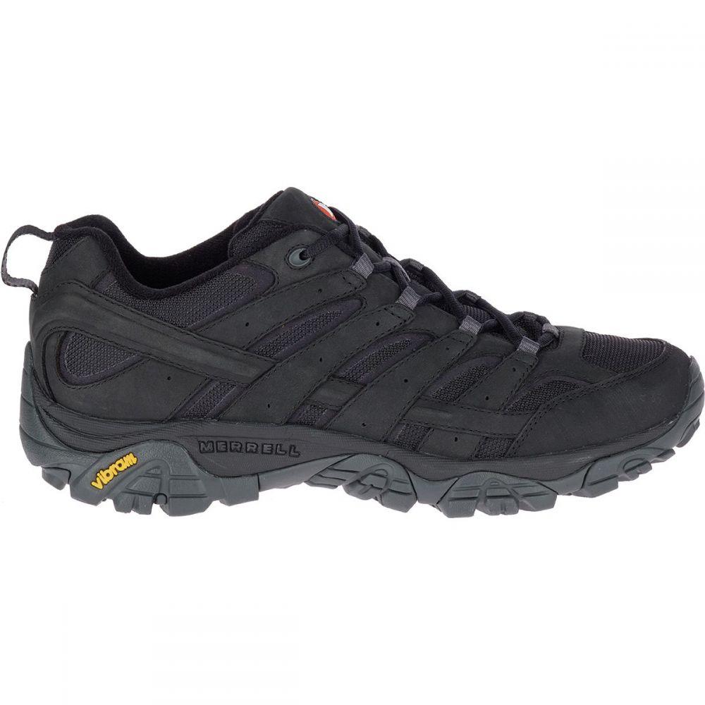 メレル Merrell メンズ ハイキング・登山 シューズ・靴【Moab 2 Smooth Hiking Shoes】Black
