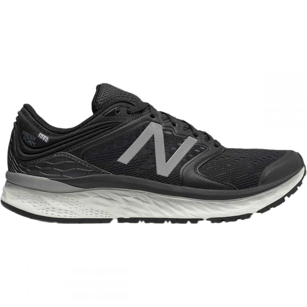 ニューバランス New Balance メンズ ランニング・ウォーキング シューズ・靴【1080v8 Running Shoes】Black/White