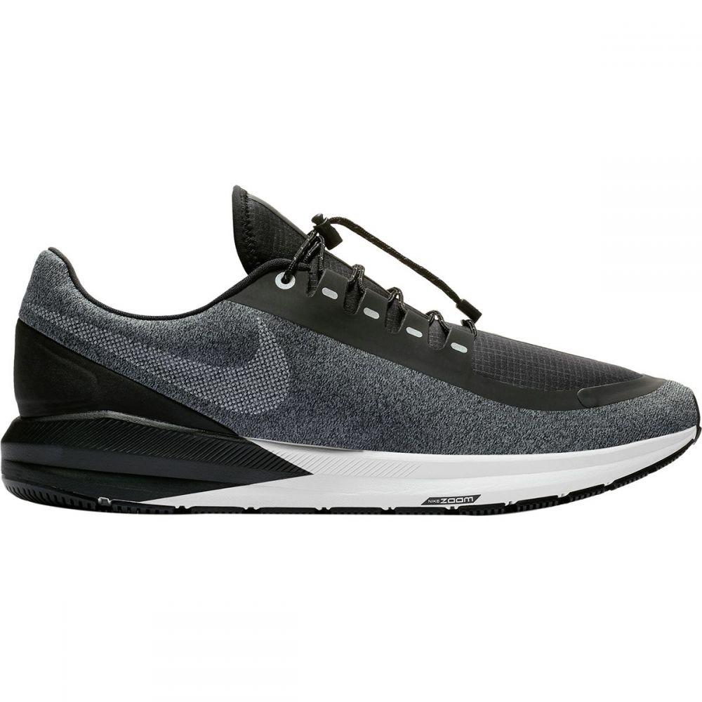 ナイキ Nike メンズ ランニング・ウォーキング シューズ・靴【Air Zoom Structure 22 Shield Running Shoes】Black/White-Cool Grey-Vast Grey