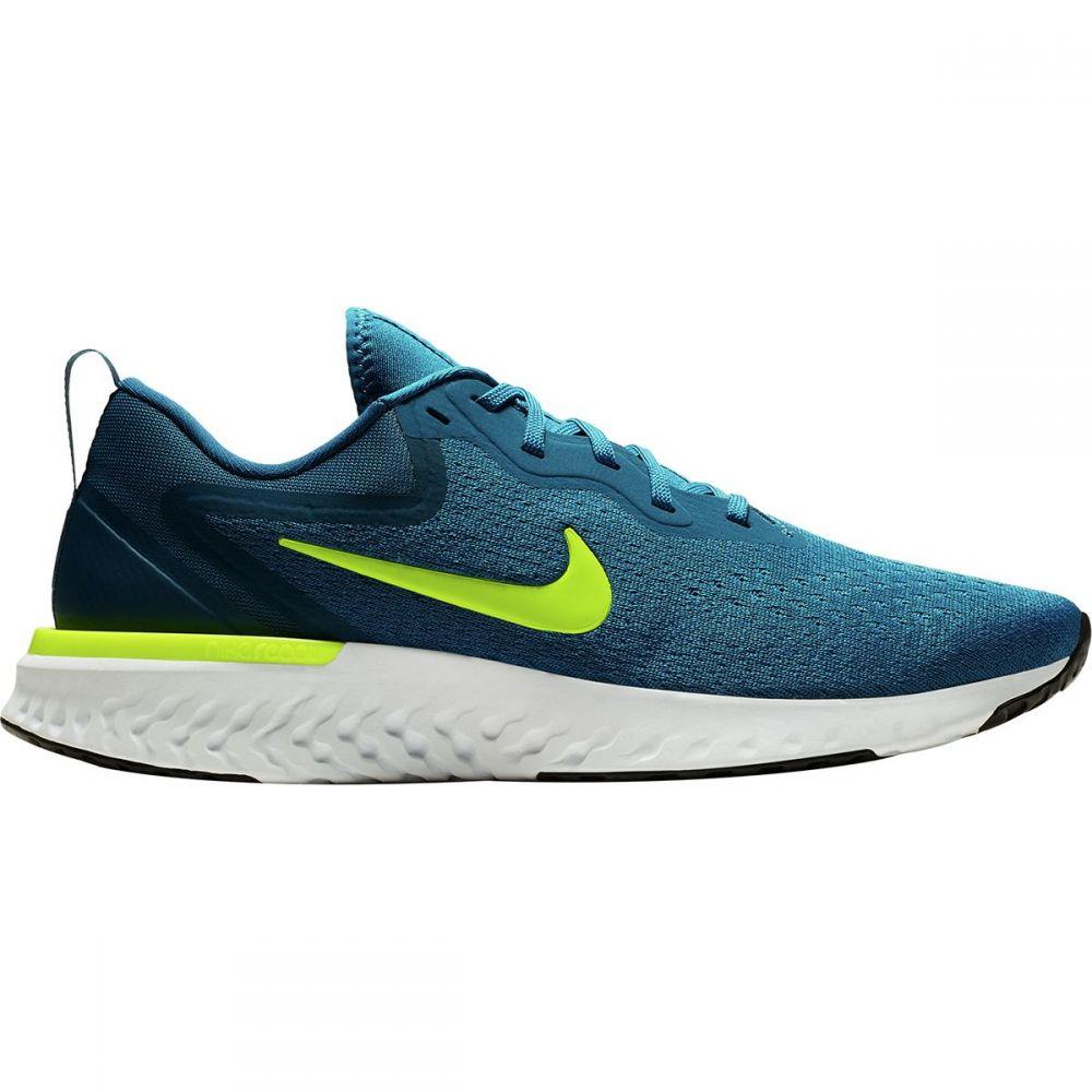 ナイキ Nike メンズ ランニング・ウォーキング シューズ・靴【Odyssey React Running Shoes】Green Abyss/Volt-blue Force-white