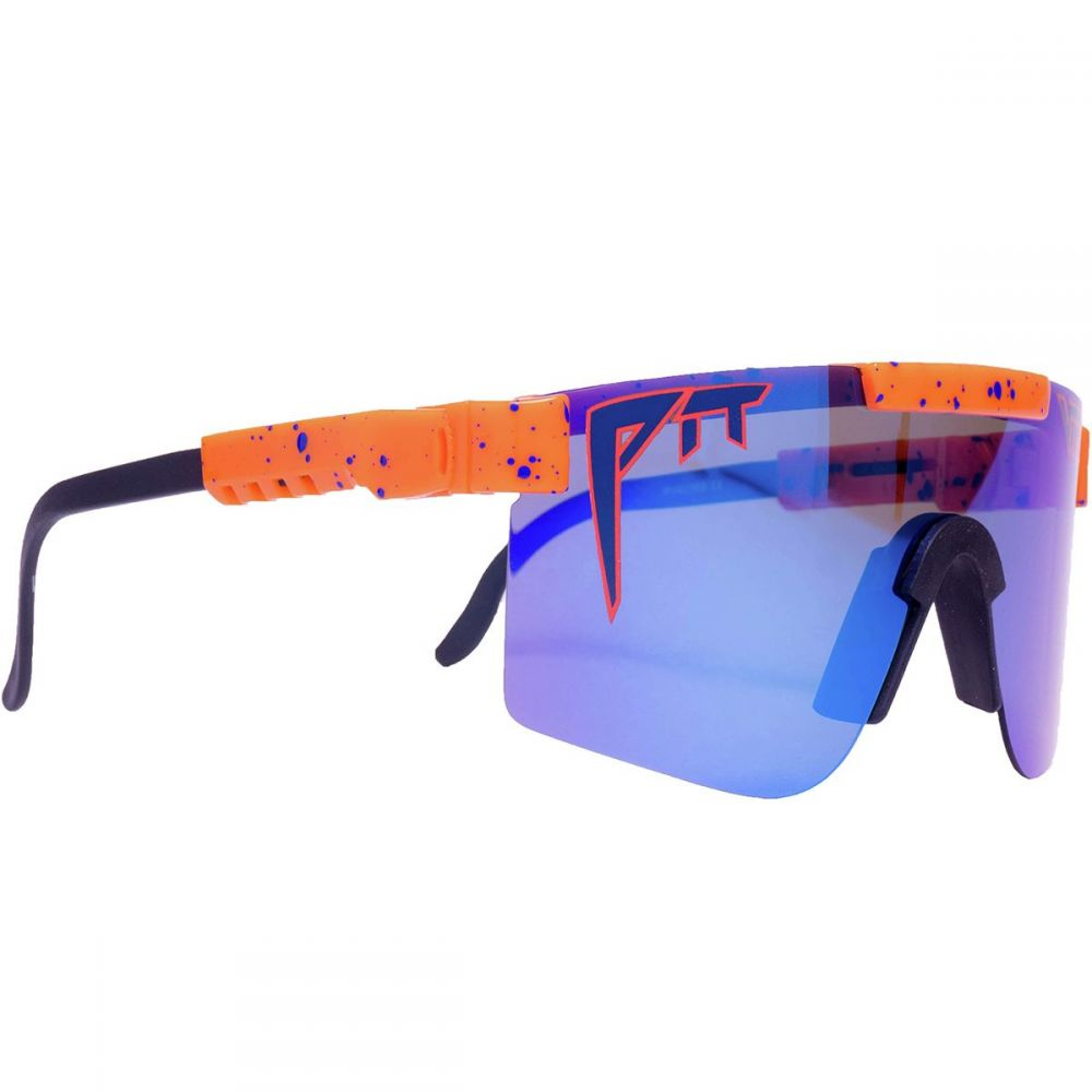 ピットバイパー Pit Viper メンズ メガネ・サングラス【Polarized Sunglasses】The Crush Polarized (Polarized Blue Revo Mirror)