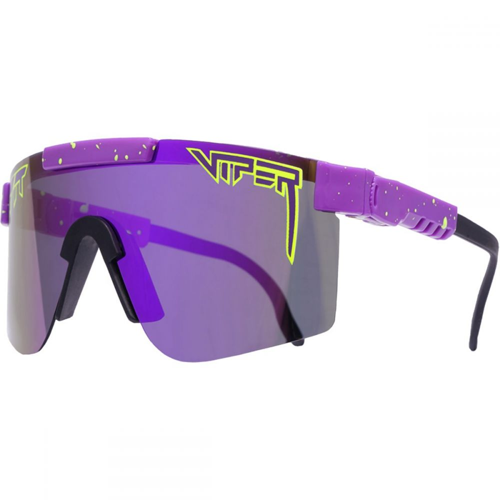 ピットバイパー Pit Viper メンズ メガネ・サングラス【Polarized Sunglasses】The Donatello Polarized (Silver Mirror)