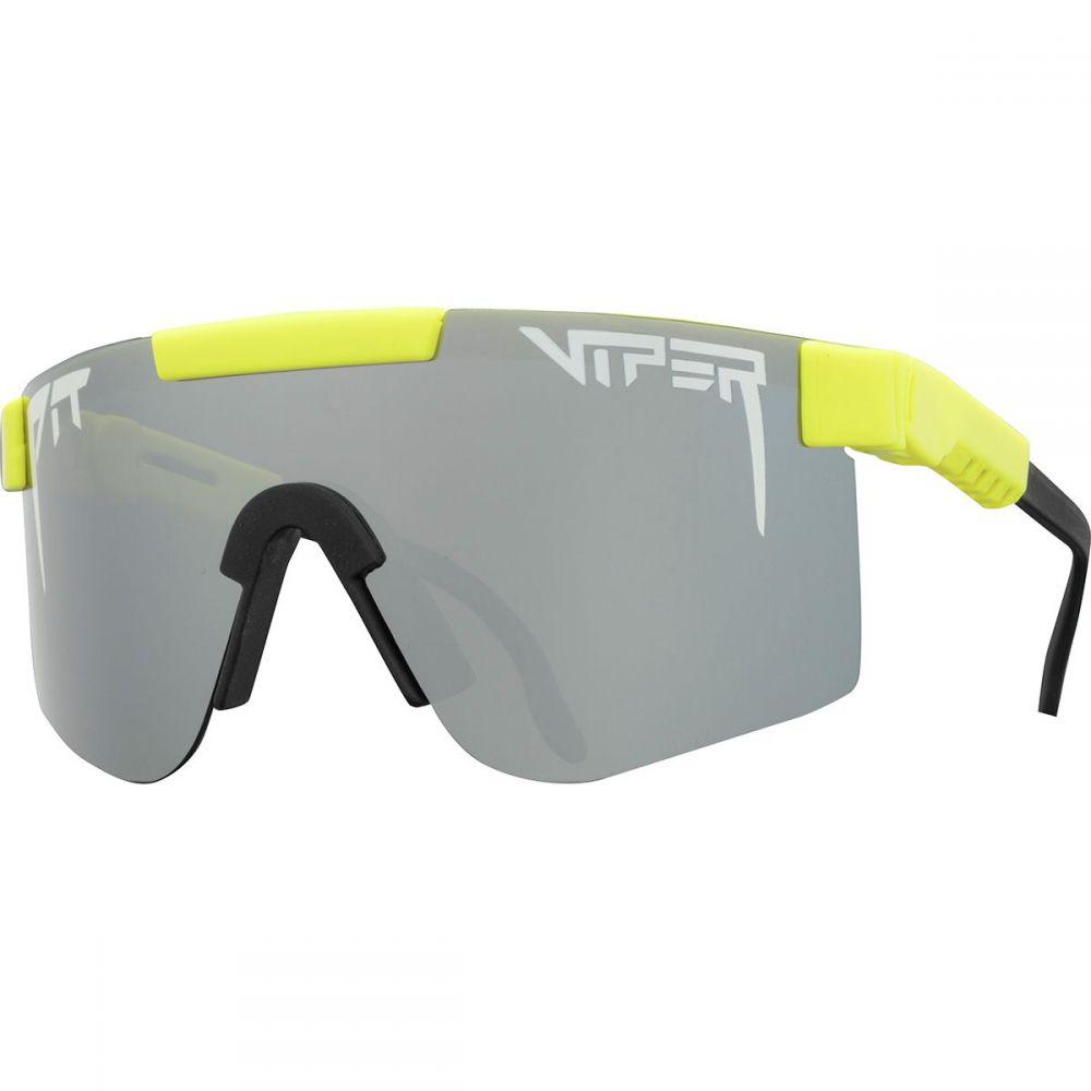 ピットバイパー Pit Viper メンズ メガネ・サングラス【Polarized Sunglasses】The Hot Dogger Polarized (Polarized Silver Mirror)