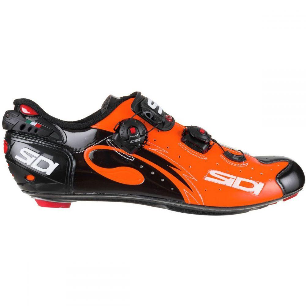 シディー Sidi メンズ 自転車 シューズ・靴【Wire Push Cycling Shoes】Orange Black