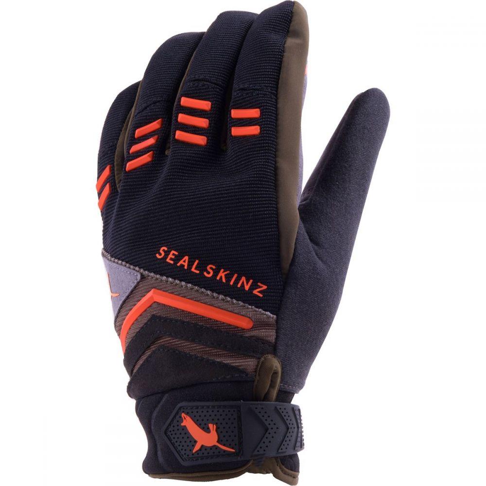シールスキンズ SealSkinz メンズ 自転車 グローブ【Dragon Eye MTB Gloves】Black/Dark Olive/Orange