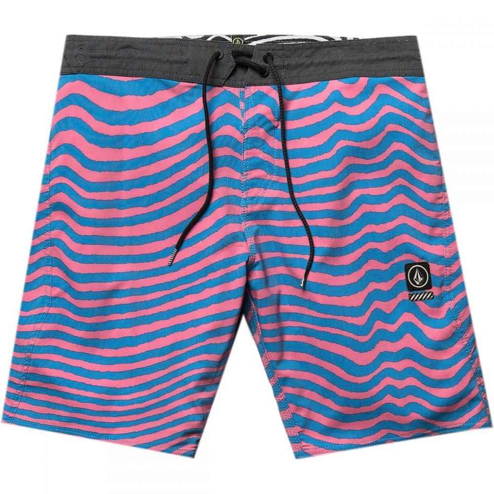 ボルコム Volcom メンズ 水着・ビーチウェア 海パン【Mag Vibes Stoney 19in Board Shorts】Frizzo Pink