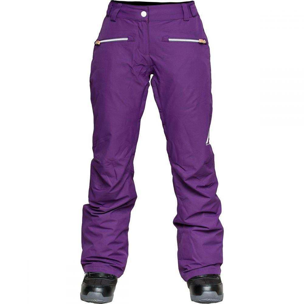 ウェアーカラー WEAR COLOUR レディース スキー・スノーボード ボトムス・パンツ【Cork Pant】Grape