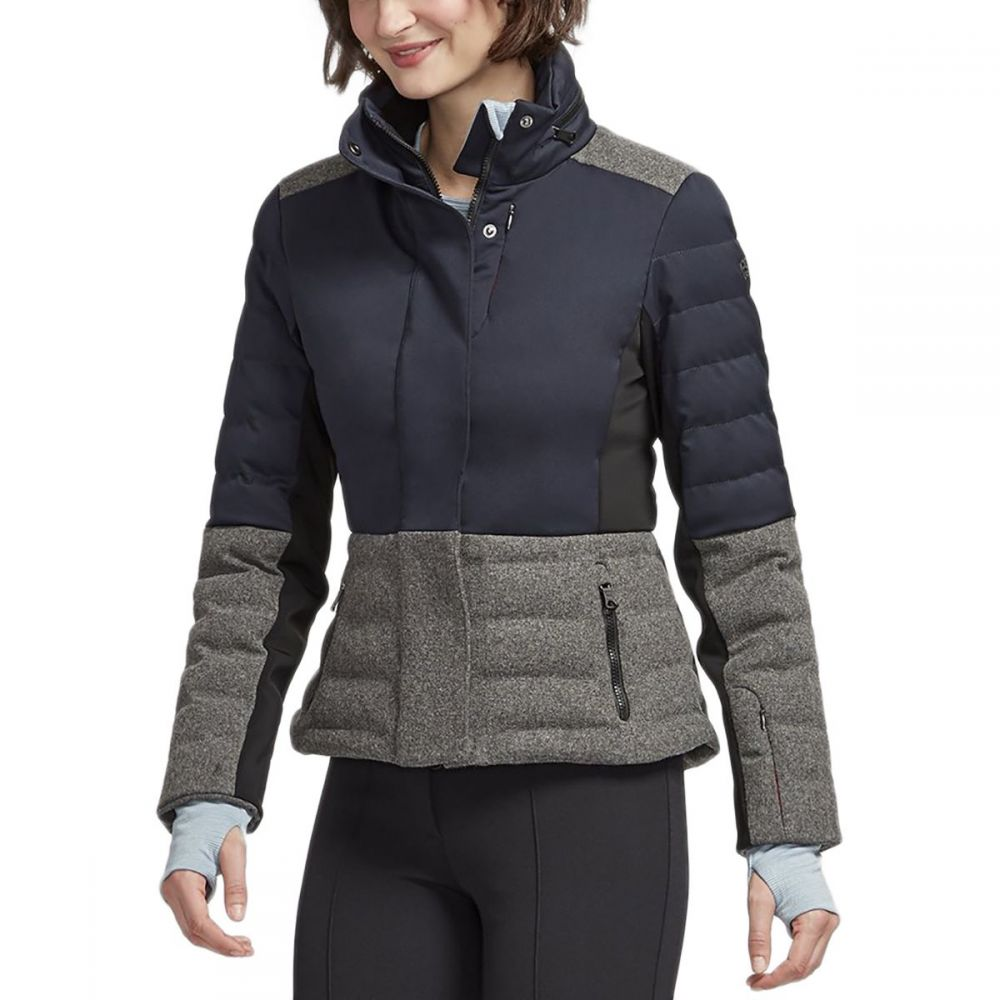 エリンスノー Erin Snow レディース スキー・スノーボード アウター【Sari Merino Insulated Jacket】Ink/Dove