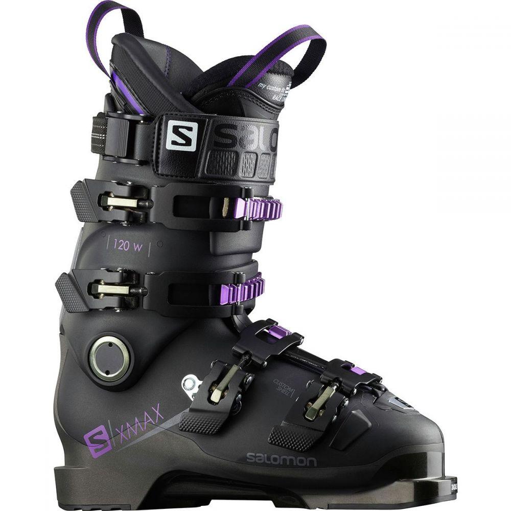 サロモン Salomon レディース スキー・スノーボード シューズ・靴【X Max 120 Ski Boot】Black/Metallic Black/Purple