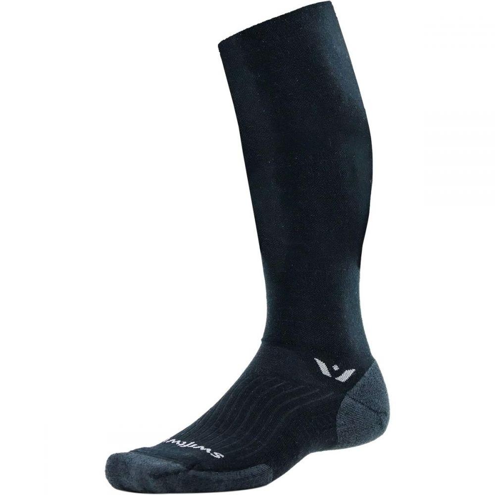 スィフトウィック Swiftwick レディース スキー・スノーボード【Pursuit Twelve Sock】Black/Coal