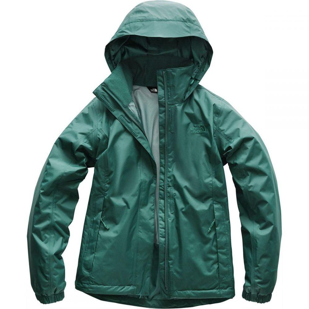 ザ ノースフェイス The North Face レディース アウター レインコート【Resolve 2 Hooded Jacket】Deep Teal Blue