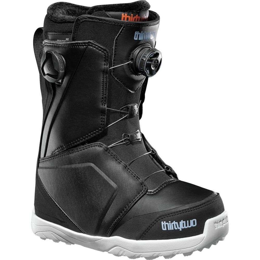 サーティーツー ThirtyTwo レディース スキー・スノーボード シューズ・靴【Lashed Double Boa Snowboard Boot】Black/Blue/White