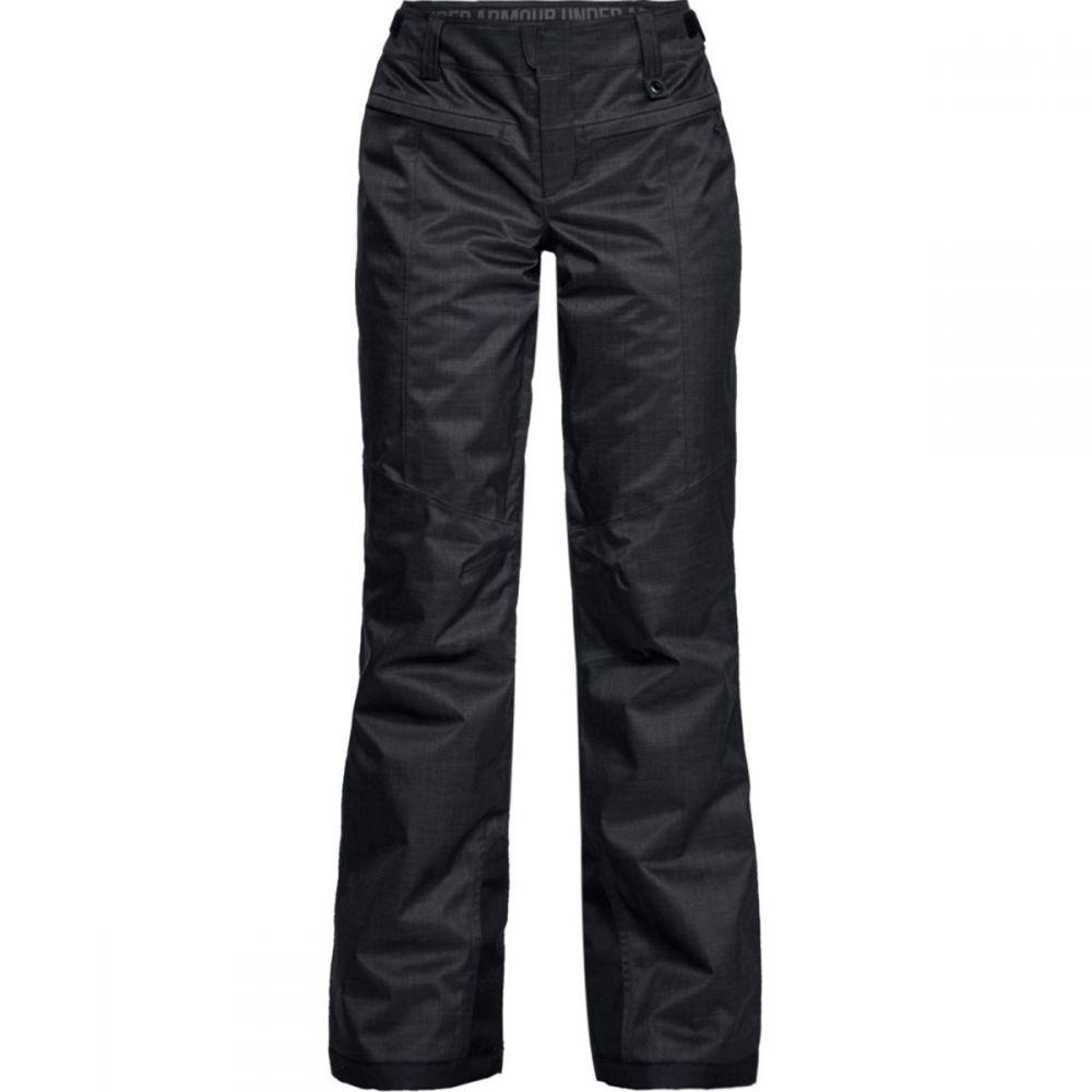 アンダーアーマー Under Armour レディース スキー・スノーボード ボトムス・パンツ【Navigate Insulated Pant】Black/Charcoal