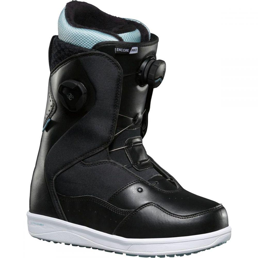 ヴァンズ Vans レディース スキー・スノーボード シューズ・靴【Encore Pro BOA Snowboard Boot】Black/Light Blue