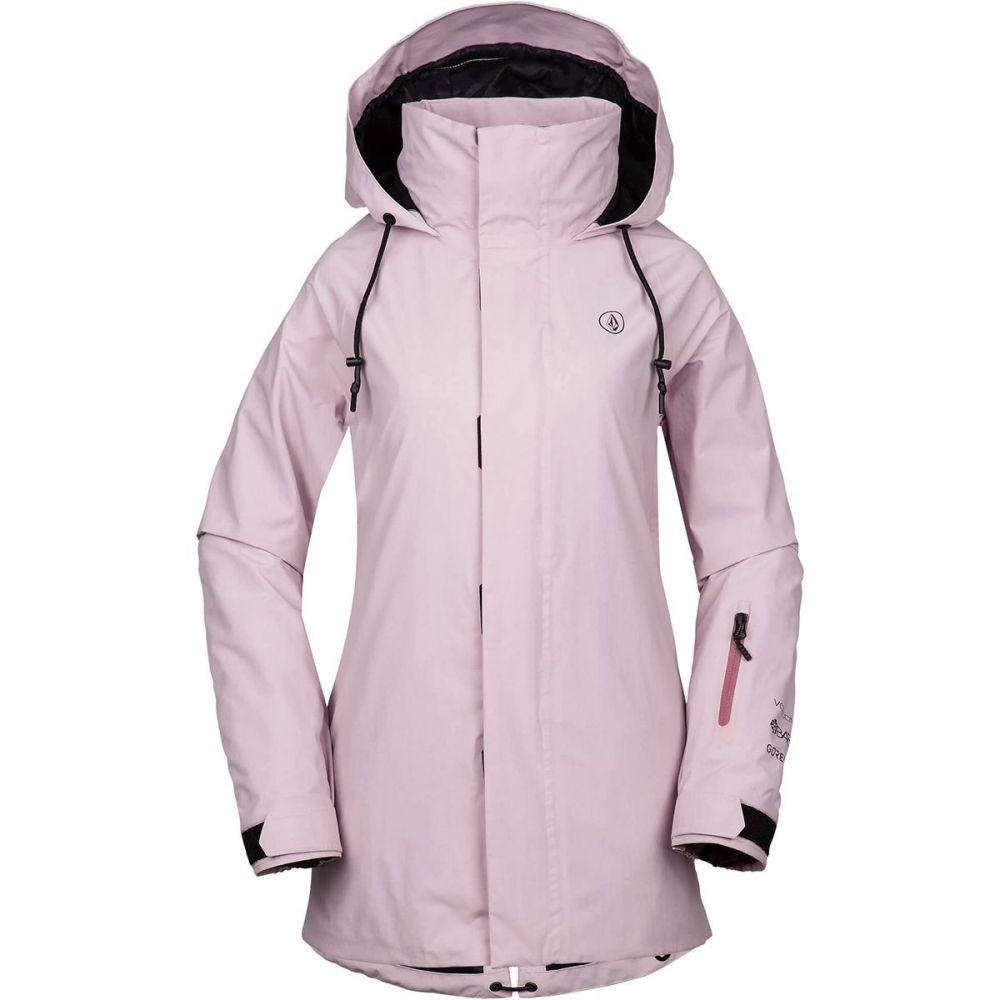 ボルコム Volcom レディース スキー・スノーボード アウター【Leda Gore - Tex Jacket】Rose Wood