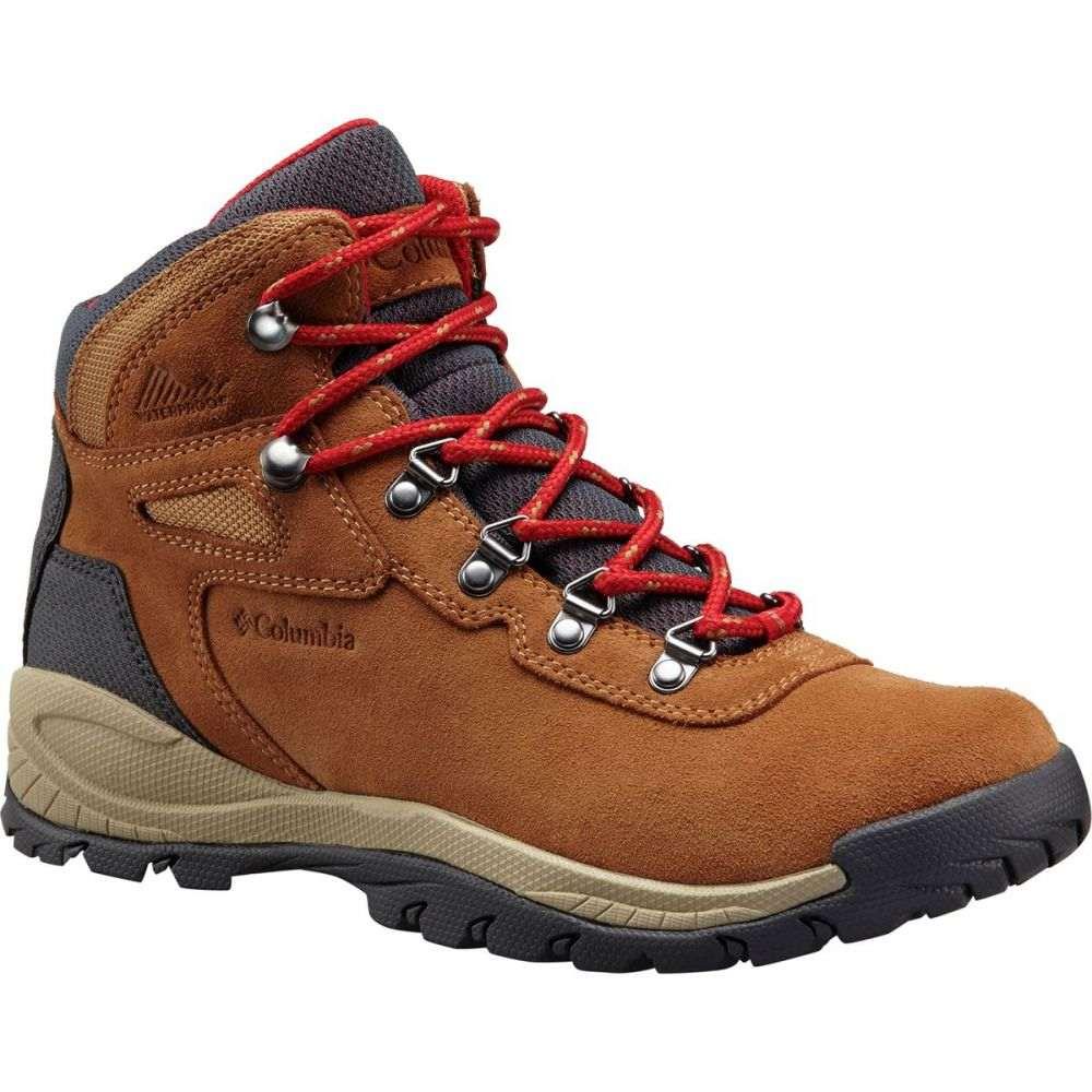 コロンビア Columbia レディース ハイキング・登山 シューズ・靴【Newton Ridge Plus Waterproof Amped Hiking Boot】Elk/Mountain Red