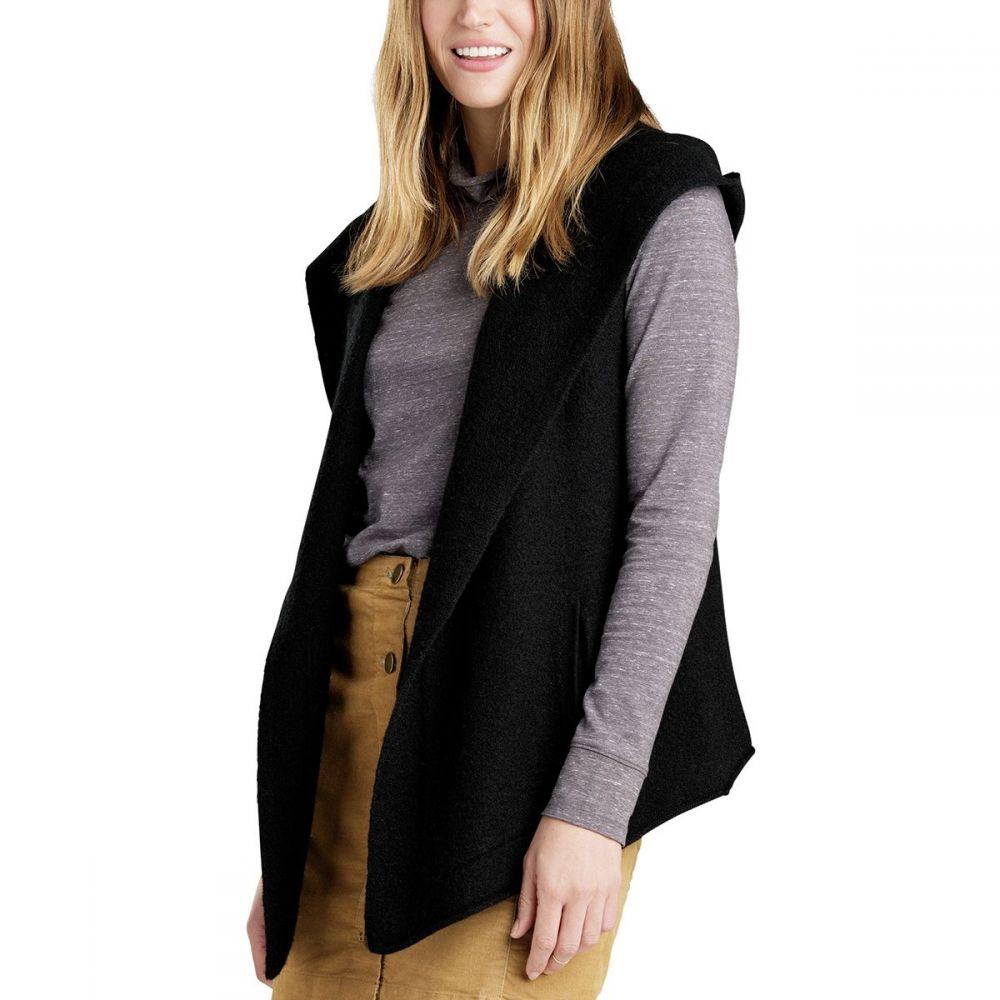 トードアンドコー Toad&Co レディース トップス ベスト・ジレ【Merino Heartfelt Vest】Black Heather