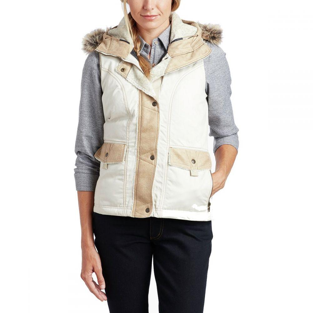 キュール KUHL レディース トップス ベスト・ジレ【Arktik Down Vest】Ivory
