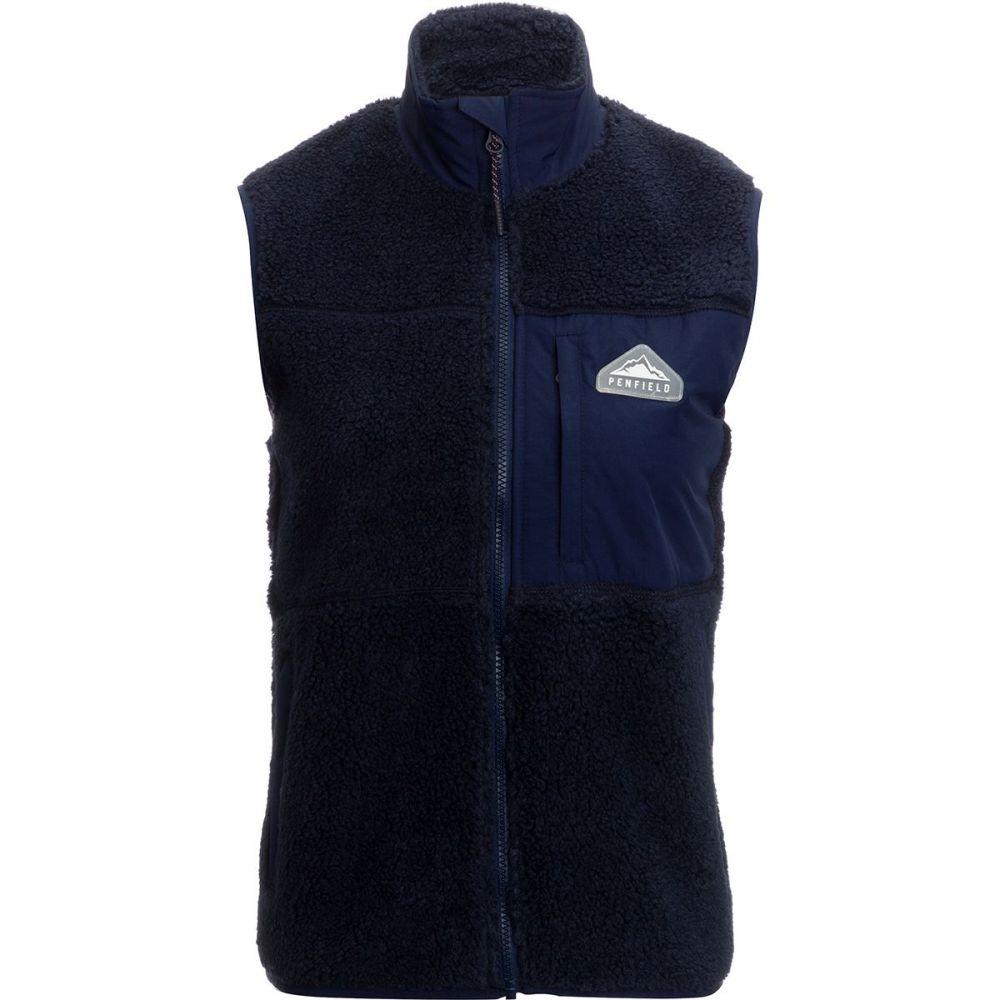 ペンフィールド Penfield レディース トップス ベスト・ジレ【Mattawa Fleece Vest】Peacoat