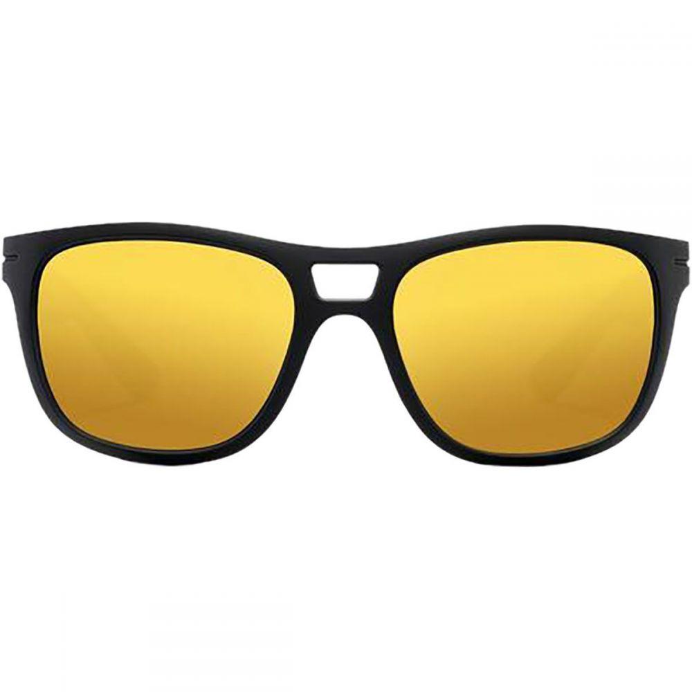 ロカ Roka レディース スポーツサングラス【Vendee Sunglasses】Matte Black/Gold Mirror